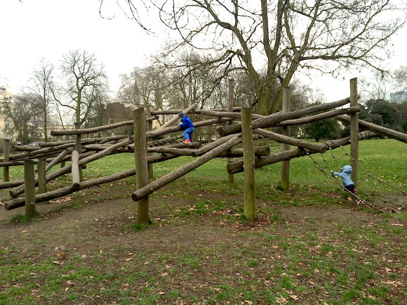 image - Gloucester Gate Playground in Regents Park Nature play800