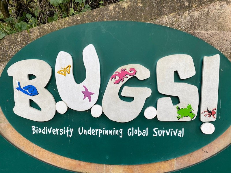 image - bedbugs sleepover at the zoo london sign at entrance
