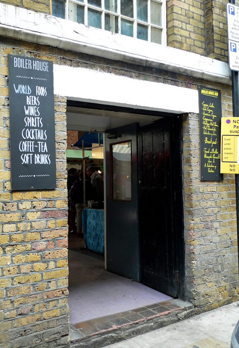 image - brick lane food hall boiler house by ewan munro