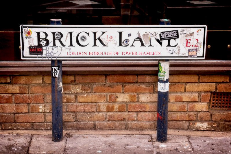 image - brick lane markets sign via garry knight 16068464626