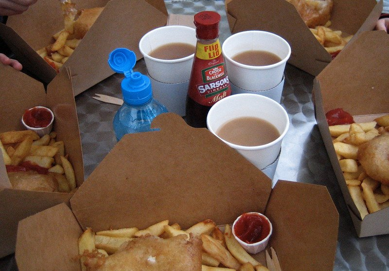 image - fish and chips by paul downey