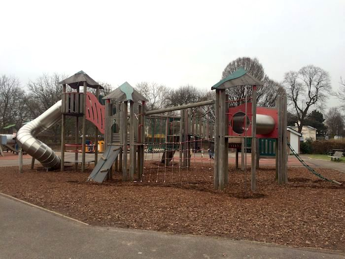 image - gloucester gate playground Giant fort.