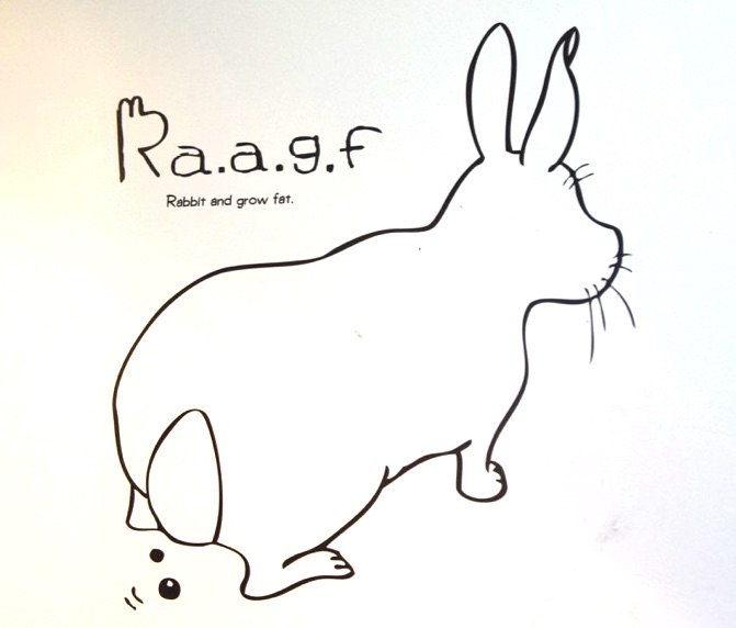 image - harajuku rabbit cafe logo