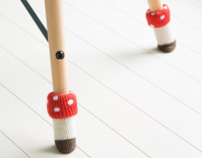 image - japanese home decor chair socks 2