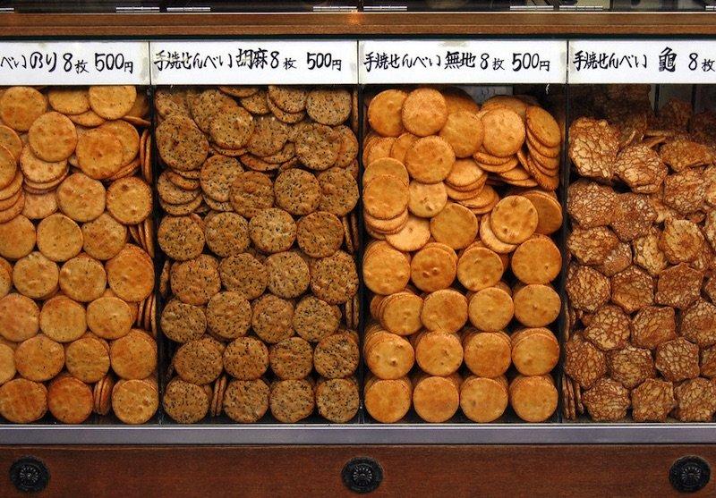 image - japanese senbei crackers asakusa