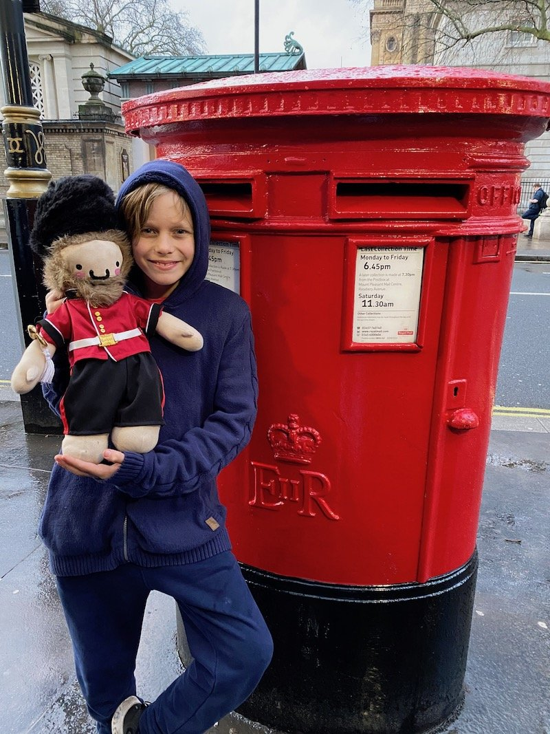 image - london post box