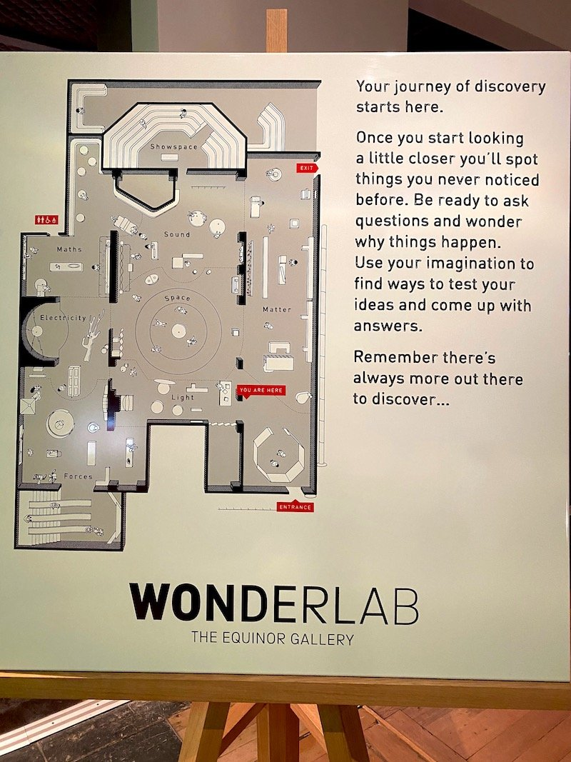 image - london wonderlab science museum map