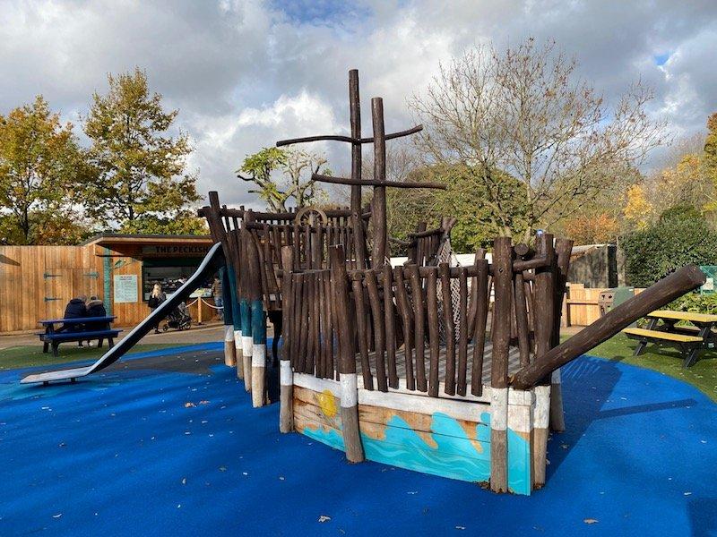 image - london zoo playground new