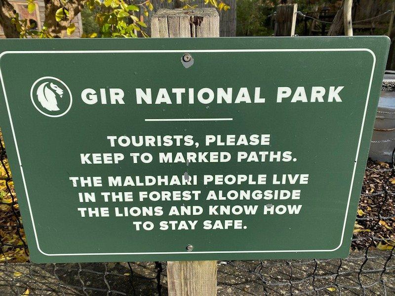 image - london zoo sleepovers UK gir lodge entrance