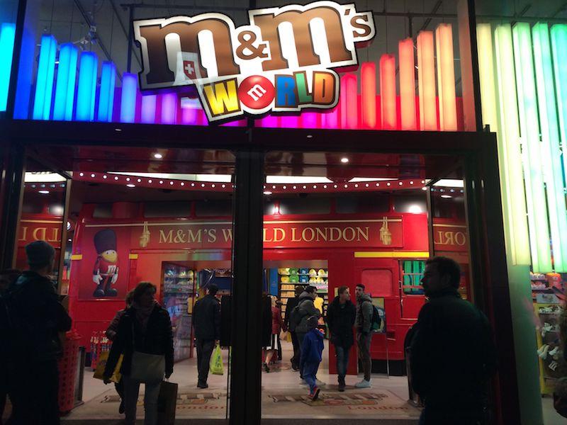 image - m&M world london entrance