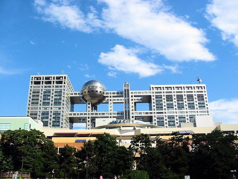 image - odaiba fuji tv building by docchewbacca 130915540