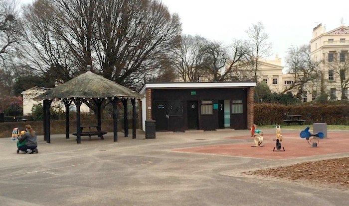 image - regents park playground Toilets