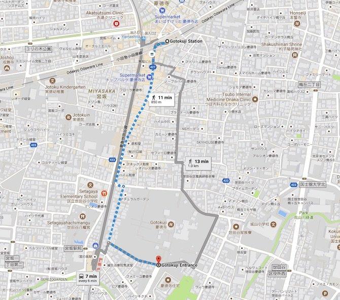 image- temples-in-tokyo-walking-track-to-gotokuji