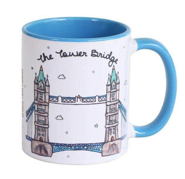 image - tower bridge to home from london mug