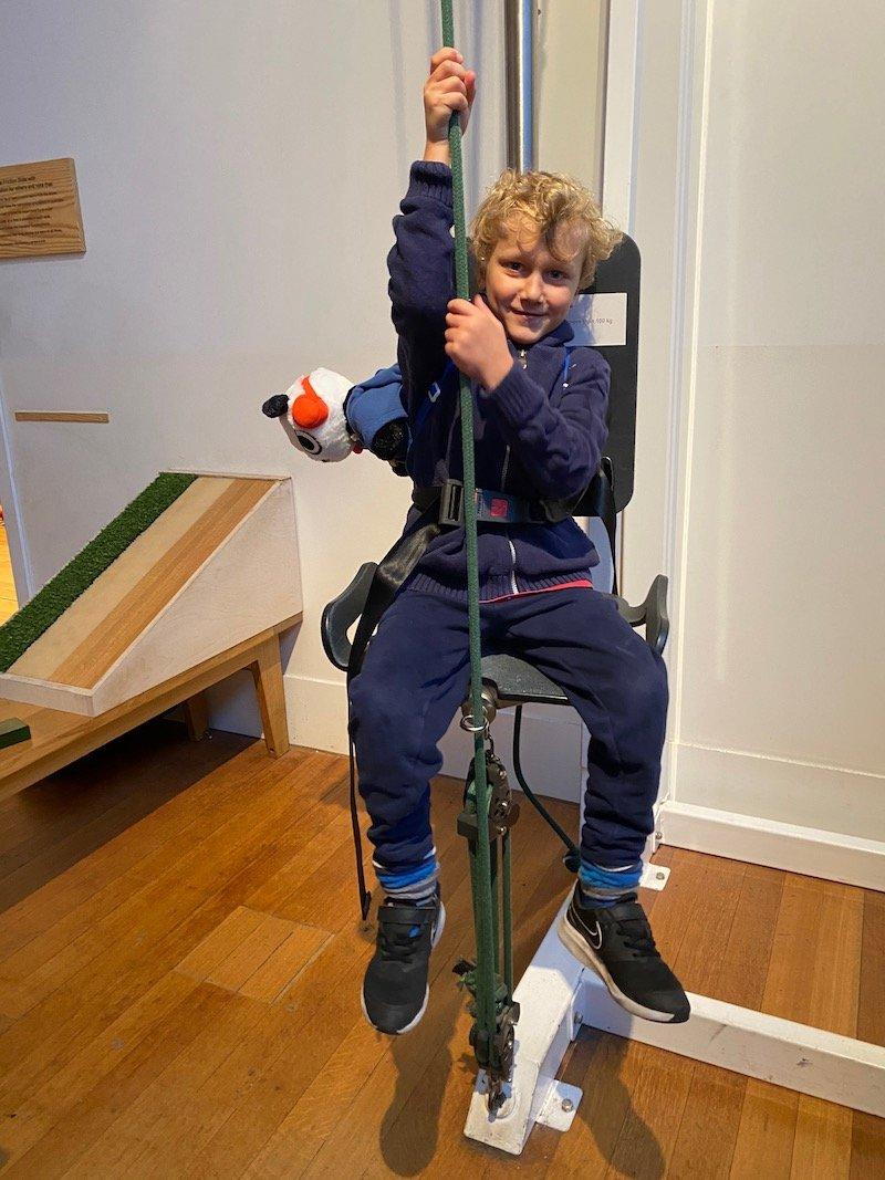 image - wonderland science museum lift