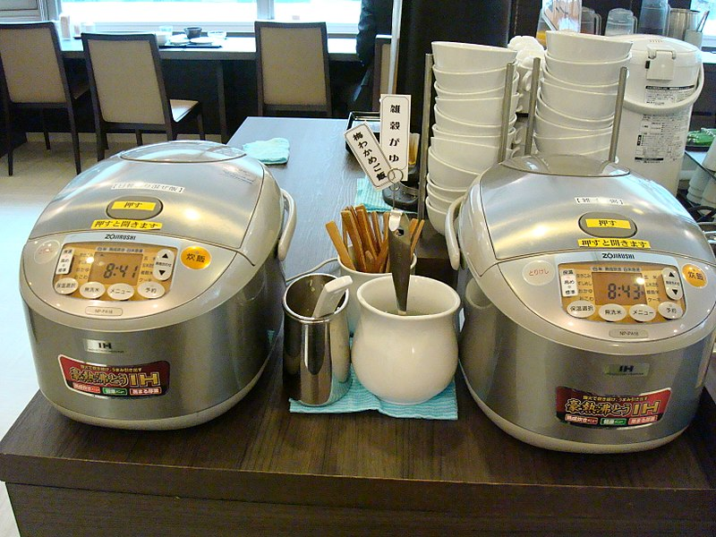 japanese rice cooker pic