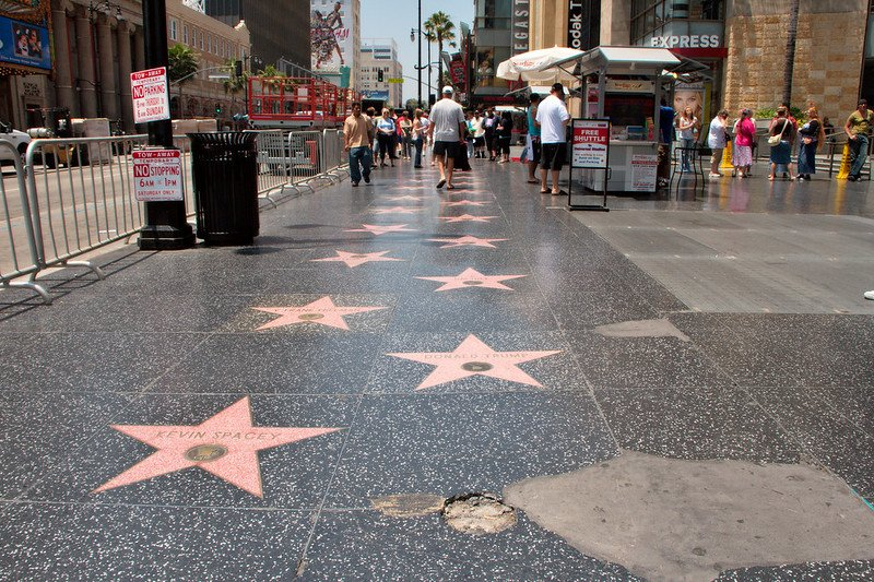 walk of fame hollywood pic by christian haugan