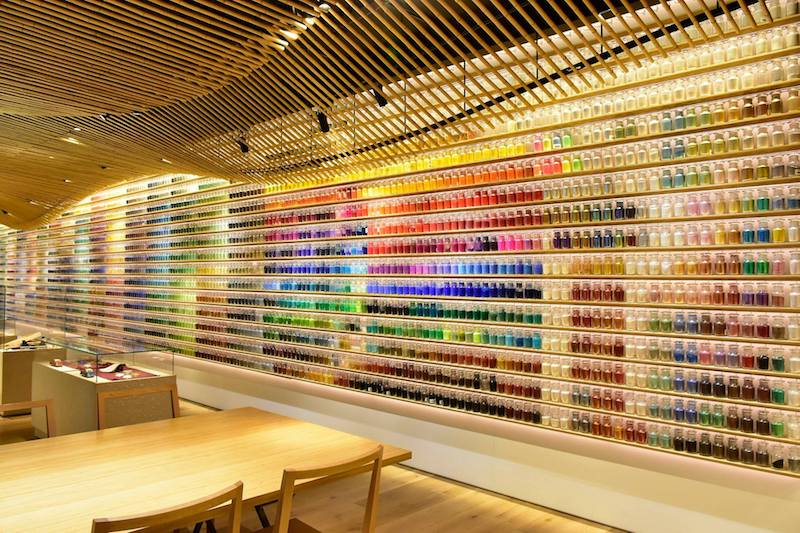 Tokyo art supplies at Pigment Tokyo Lab