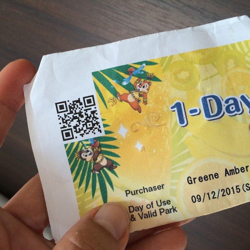 tokyo disneyland ticket print off 800pg