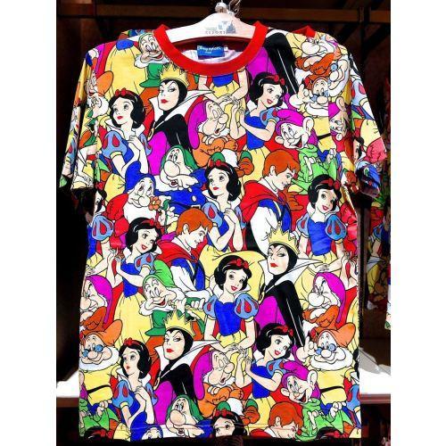 tokyo disneysea t shirts - snow white