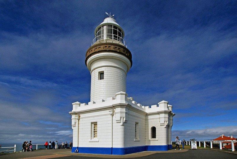byron bay lighthouse by bernard spragg nz