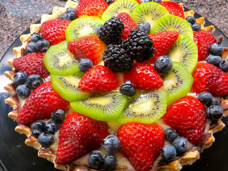 fruit tart pic by torbakhopper