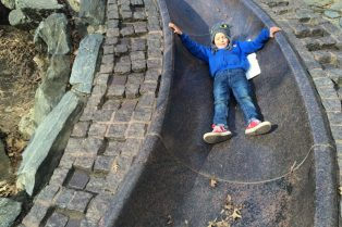 image - billy johnson playground new york ned on granite slide 800