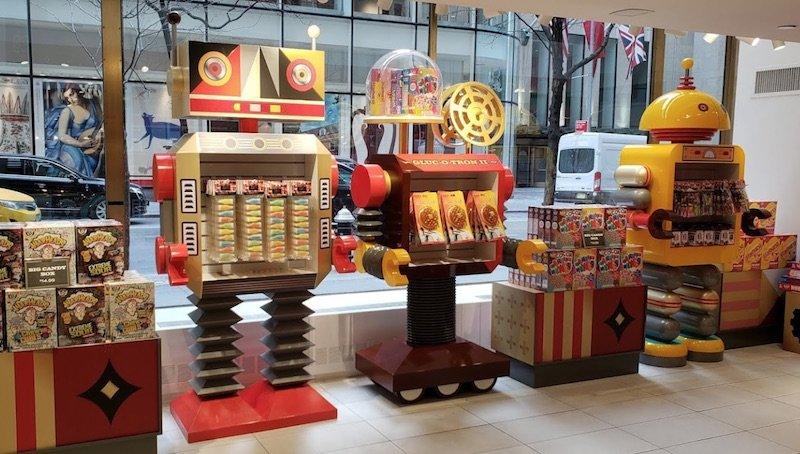 image - fao schwarz candy robots
