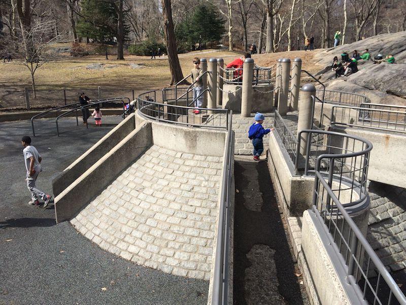 image - heckscher park playground fortress