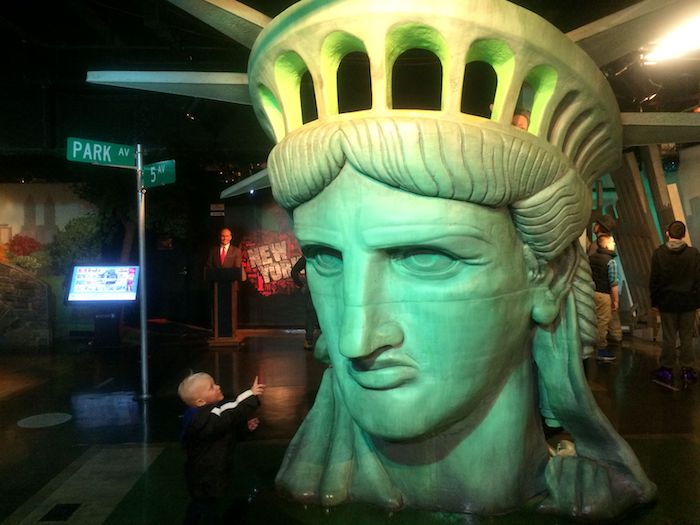 image - madame tussauds nyc statue of liberty
