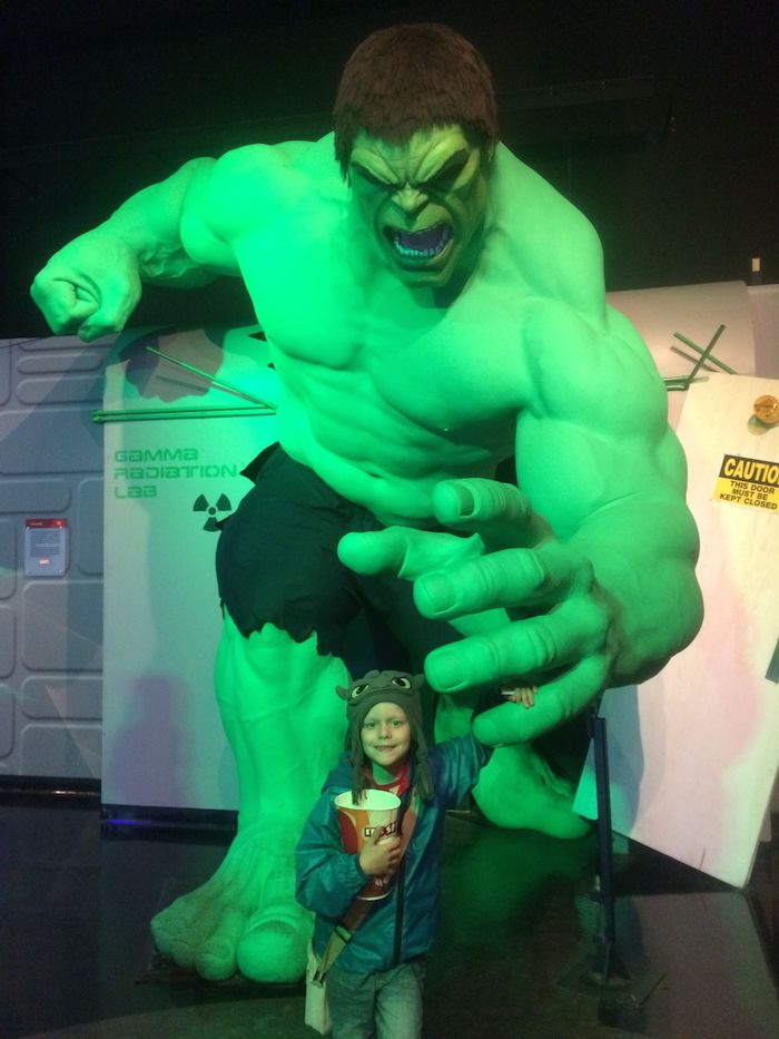 image - madame tussauds nyc the hulk with ned