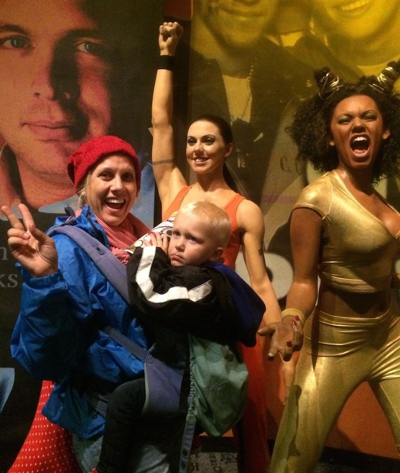 image - madame tussauds nyc the spice girls