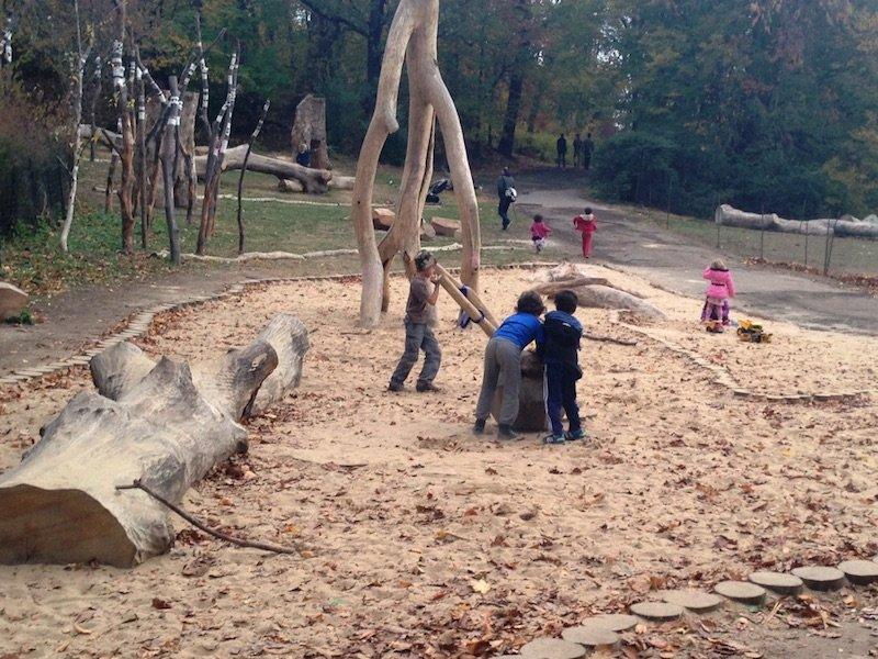 image - prospect park children's corner zucker nature playground