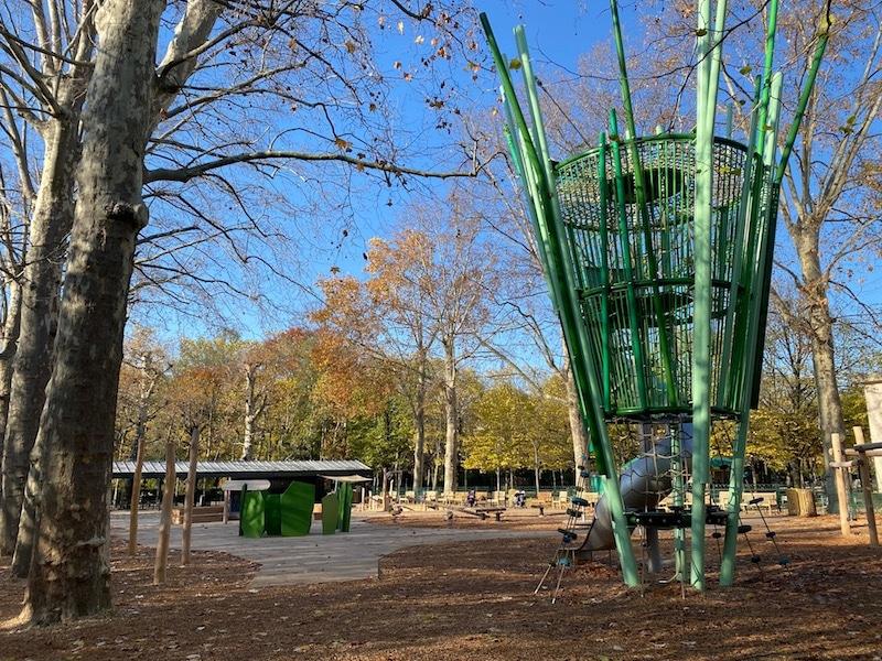 jardin du luxembourg gardens playground overview