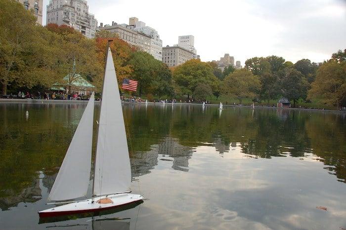 sailboats central park