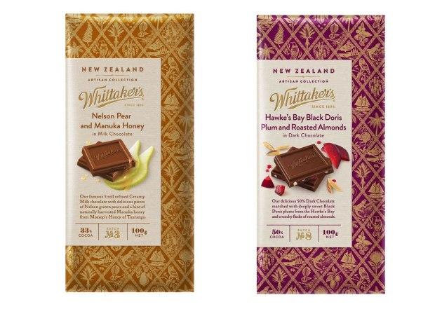 whittakers artisan chocolate