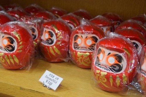 18. S Tokyo shopping daruma doll 500