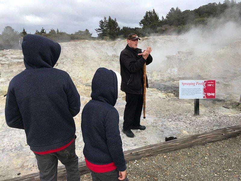Win travel competitions - Hells Gate Rotorua Spraying Pools 800