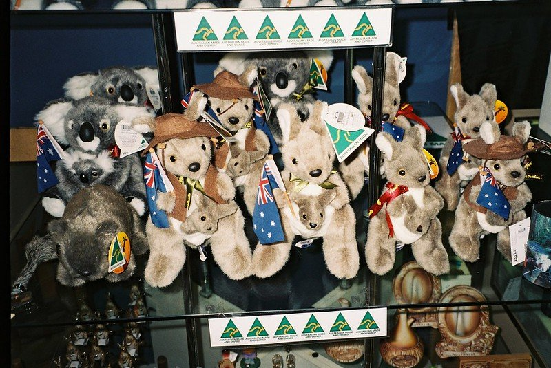 australian animal toys by matthew paul argall