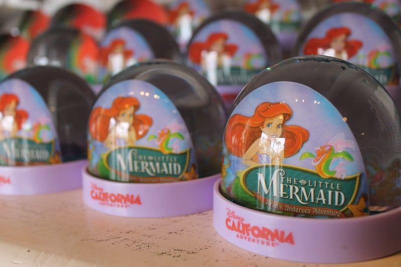 best disney gifts- little mermaid snow globes pic
