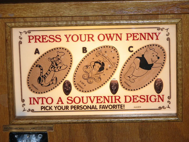 best disney souvenirs - disney pressed pennies pic