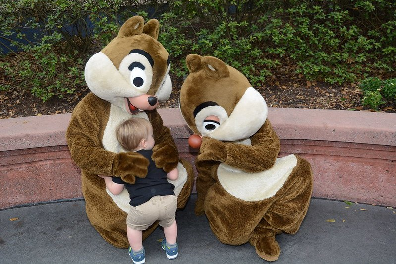 chip and dale campfire hug by mattcc716