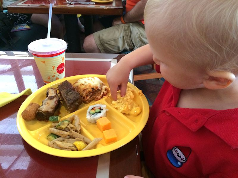 disney dining plan for toddlers pic