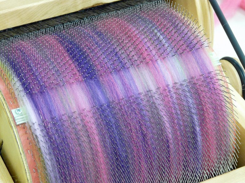 drum carder by jane nearing
