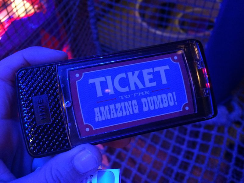 dumbo interactive ride queue buzzer