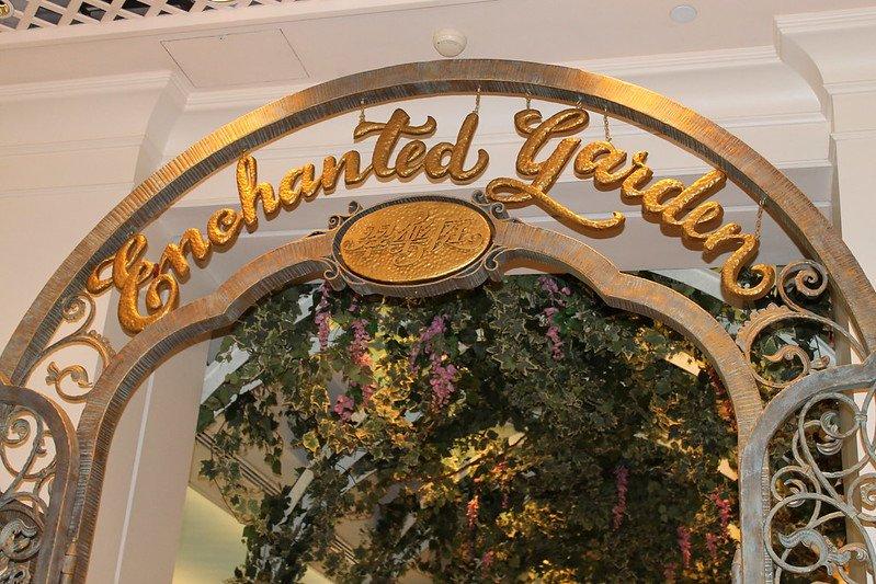 enchanted garden restaurant at hong kong disneyland hotel by loren javie