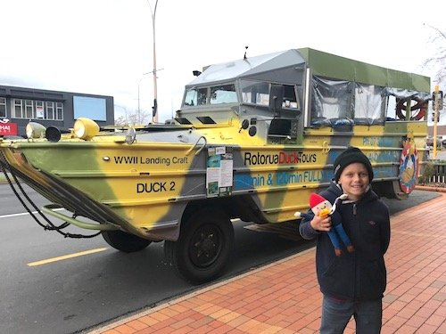 image - how to win competitions - rotorua duck tours vehicle 500