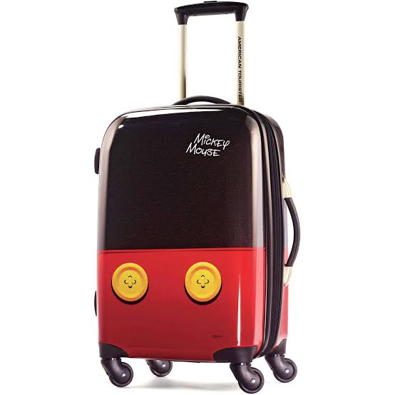 disney roller suitcase