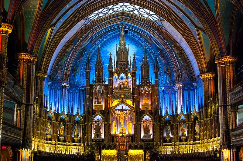 montreal notre dame basilica pic by ryan hyde