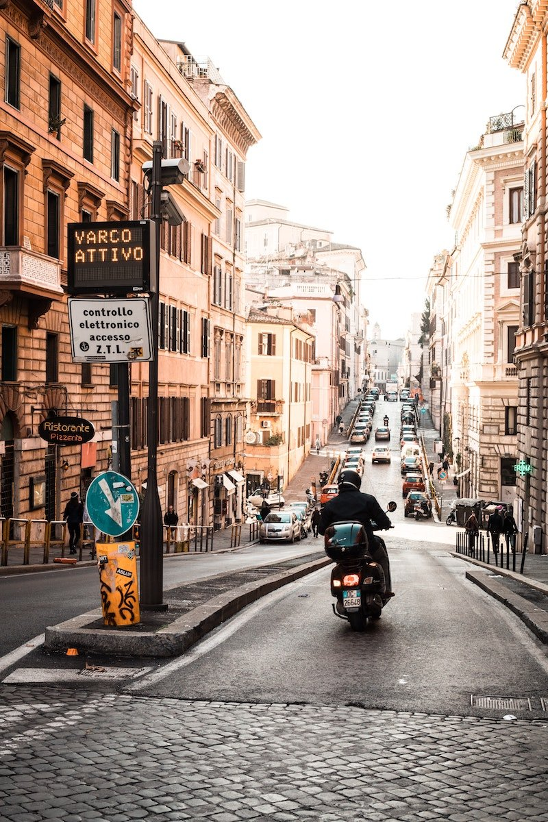 rome cobbled streets by javon swaby
